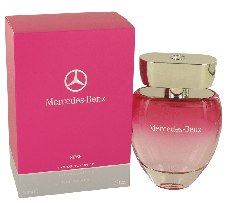 mercedes benz rose perfume for women by mercedes benz. Black Bedroom Furniture Sets. Home Design Ideas