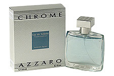Chrome Cologne For Men By Azzaro